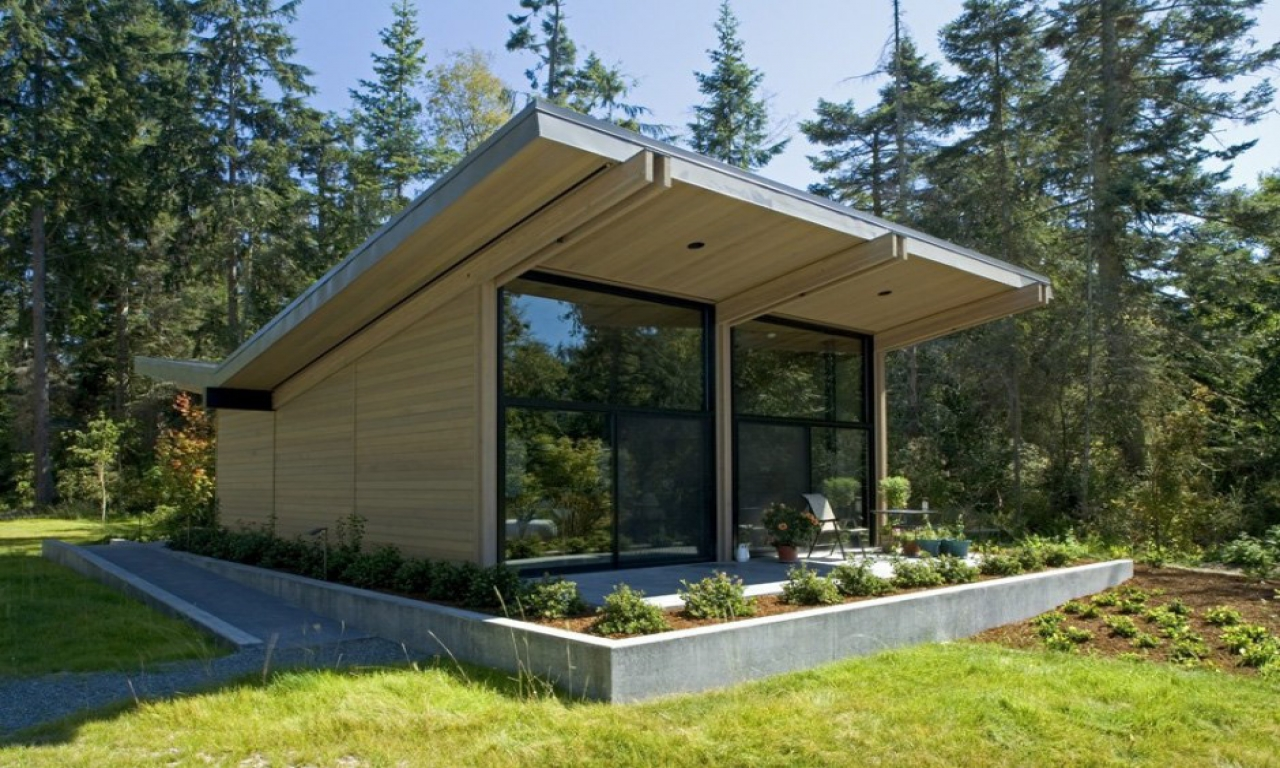 Wood cabin house modern design homes romantic cabins in for Luxury cabin designs