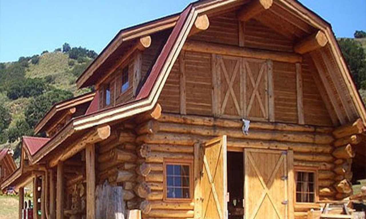 Ranch floor plans log homes log home floor plans with for Ranch log home floor plans