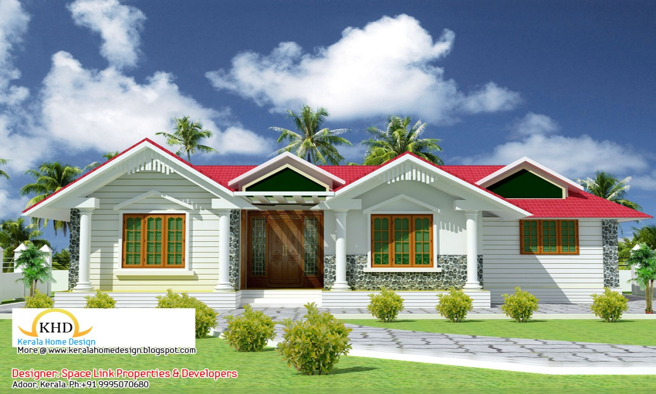 Single floor house plans in kerala simple small house for Bbc home designs
