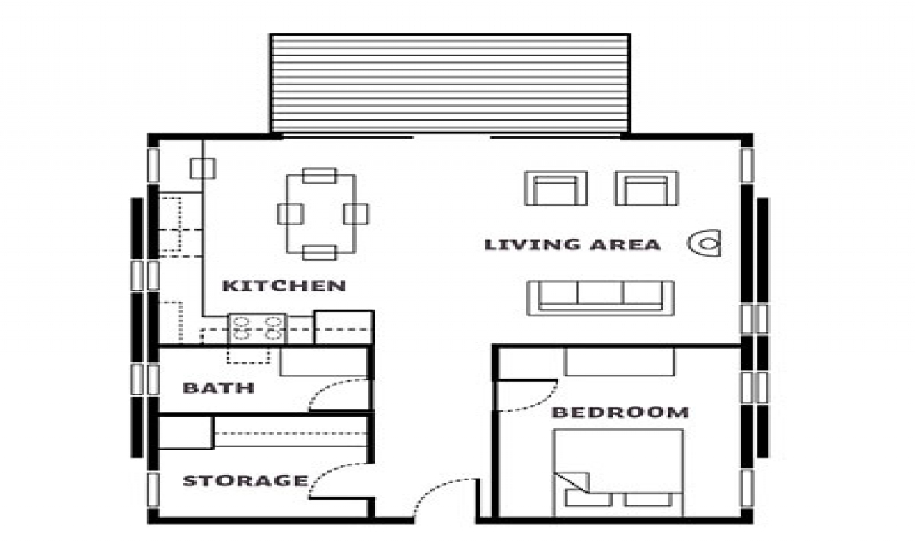 Log Cabin Floor Plans Washington Cabin Floor Plan