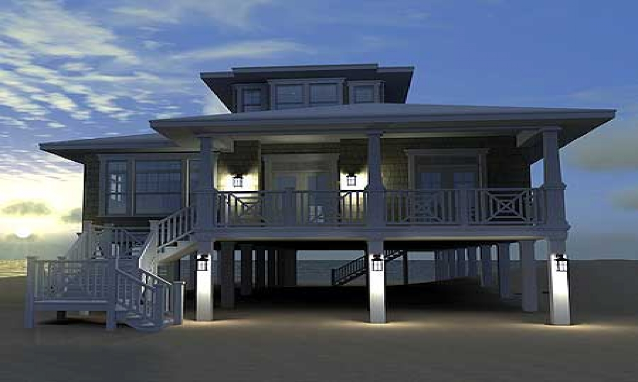 Low country beach house plans low country beach house art for Low country beach house plans