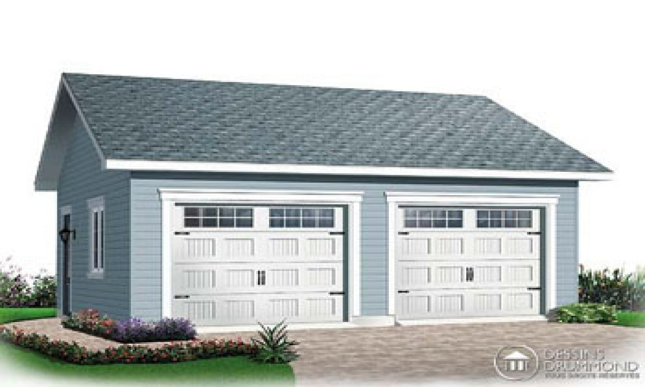 4 car detached garage plans detached garage plans for 8 car garage plans