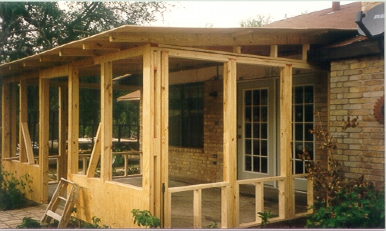 Do It Yourself Building Plans: Screened Porch Plans House Plans With Screened Porches, Do
