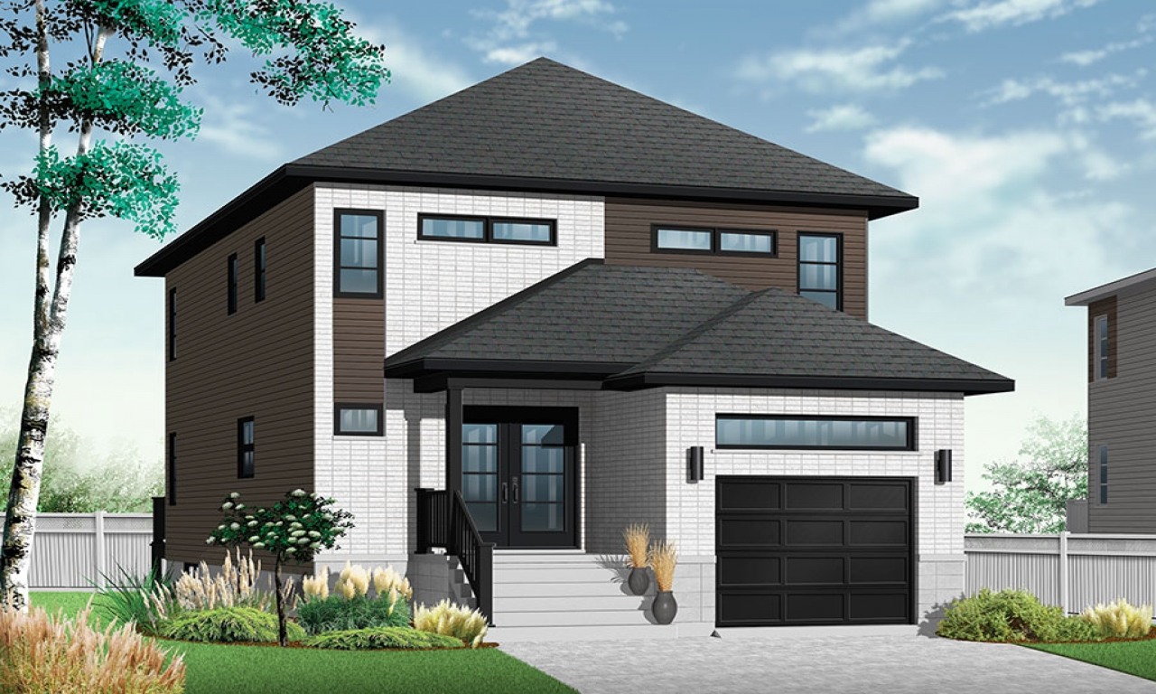 narrow lot homes modern contemporary narrow lot house plans lrg 422f41dc9bdb7eb9 - 42+ Modern House Plans For Small Lots  Pictures