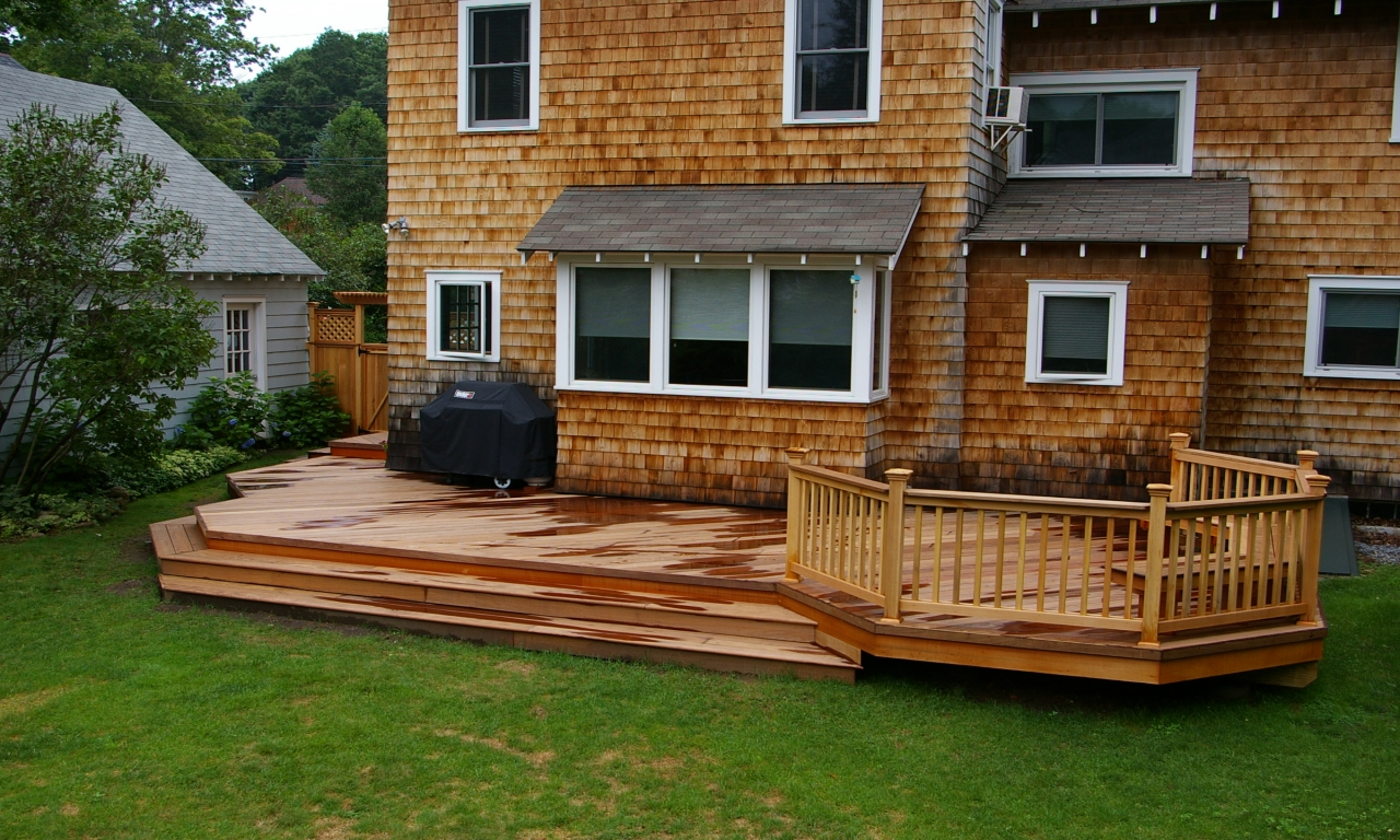 Patio and deck designs outdoor wood deck designs ideas for Ideas for deck designs