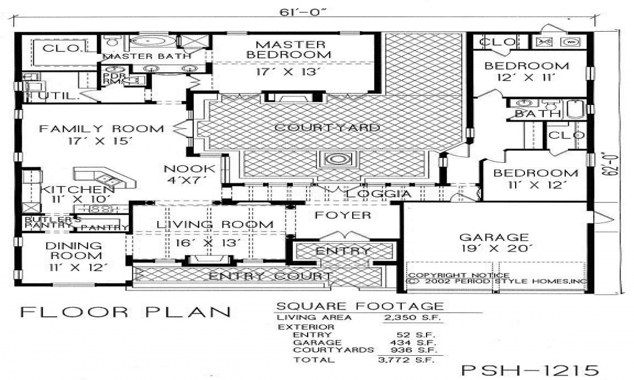 Home floor plans with courtyard home floor plans with - Upload floor plan and design free ...