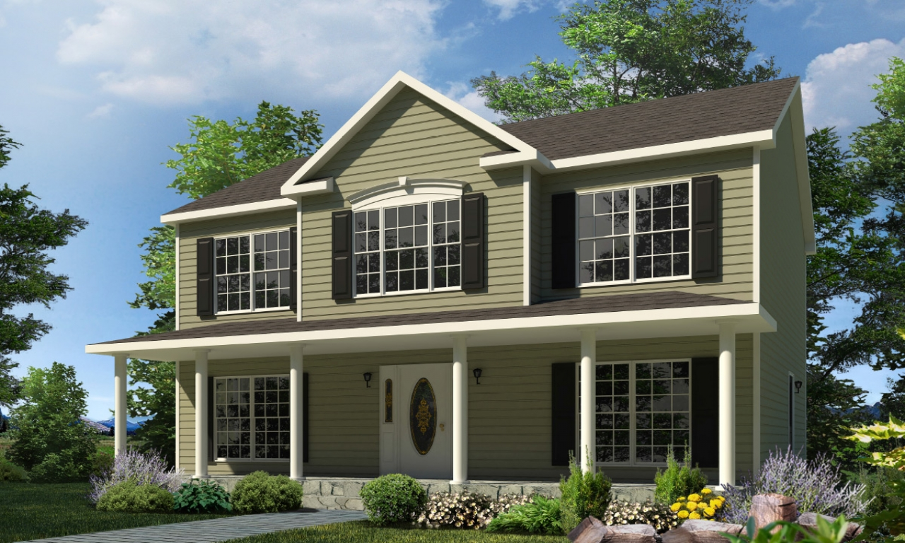Two Story House Two Story Modular Homes 2 Story House