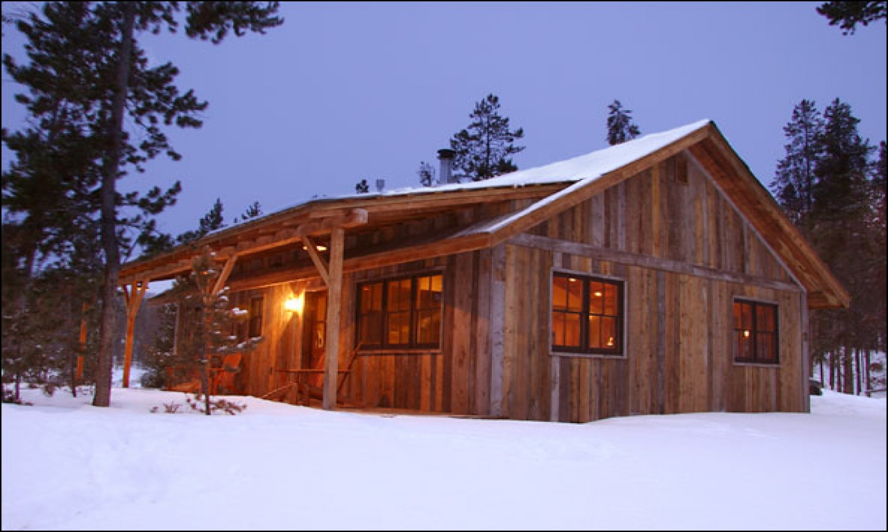 Small rustic mountain cabin plans small mountain homes for Small mountain home plans