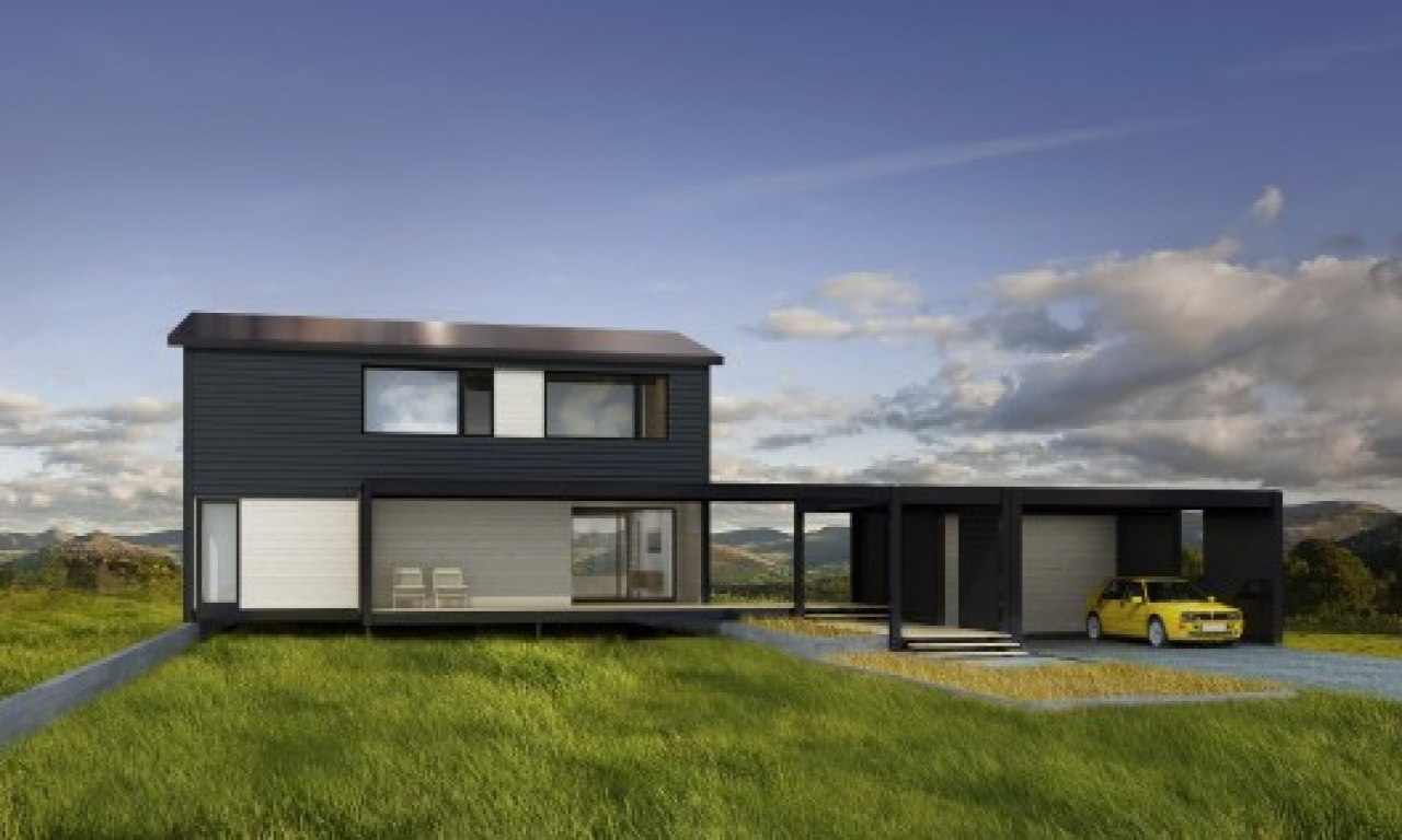 Affordable modern prefab homes affordable small prefab for Affordable contemporary homes