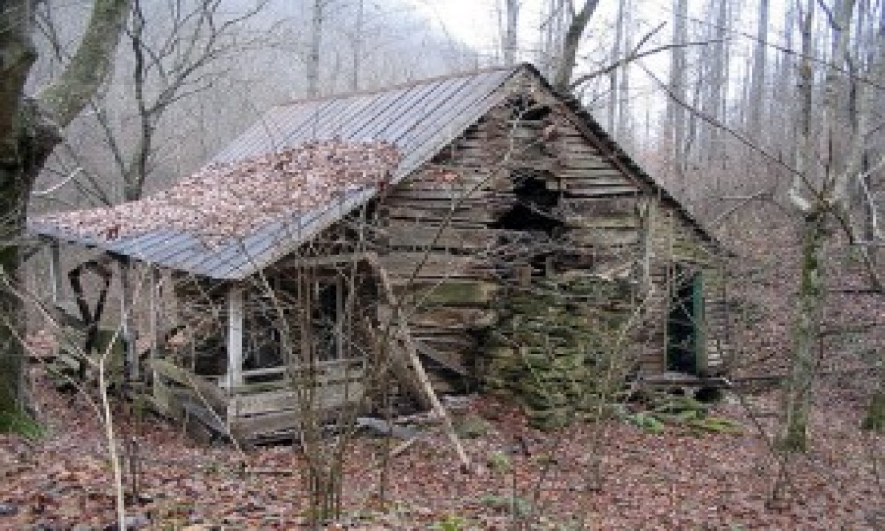 Abandoned Cabin In The Woods Small Abandoned Cabin In