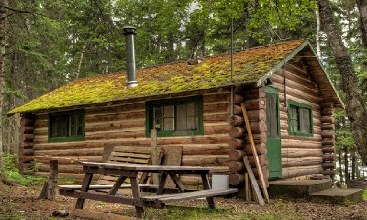 Build simple log cabin small log home floor plans simple for Log cabins to build