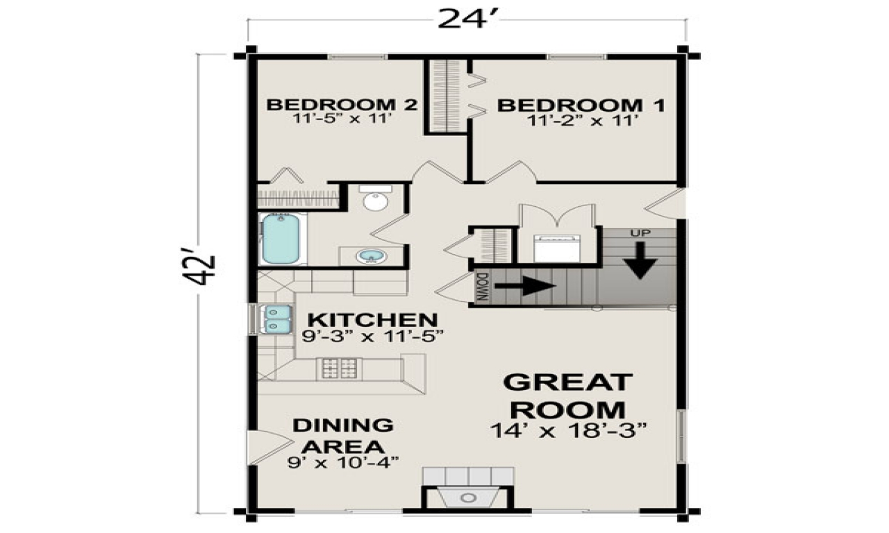 Small house plans under 1000 sq ft small house plans under for 600 sq ft cottage plans