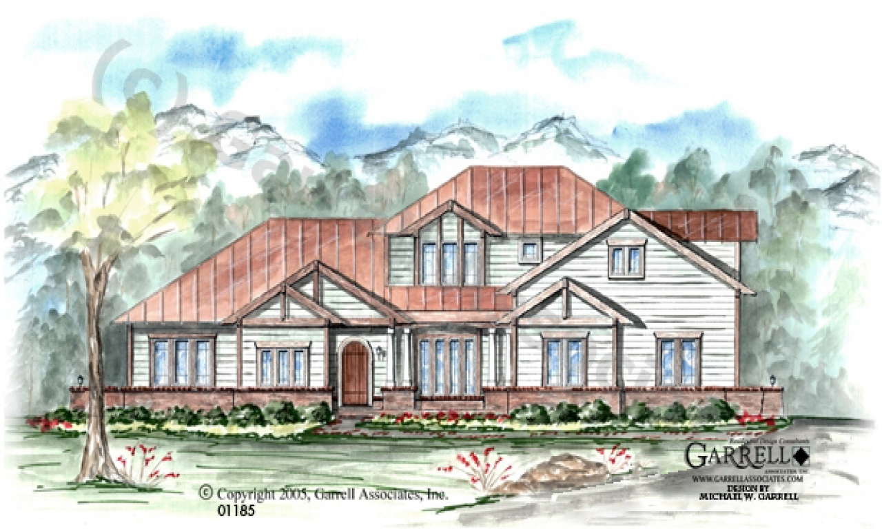 Mountain lodge house plans lodge style house plans for Ski lodge house plans