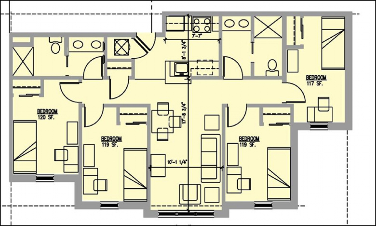 10 bedroom house floor plan 100 bedroom house 4 bedroom home floor plans. Black Bedroom Furniture Sets. Home Design Ideas