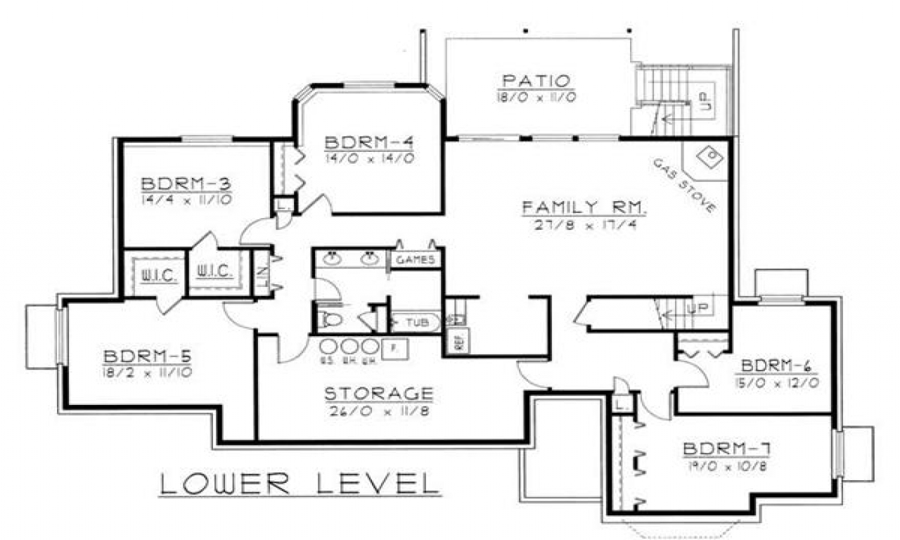 In Law Additions Floor Plans: Country Ranch House Plans Ranch Style House Plans With In