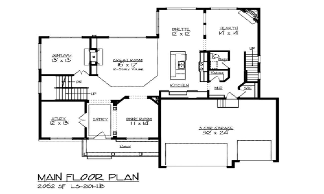 Lake house floor plan house plans small lake lake homes for Lake home floor plans