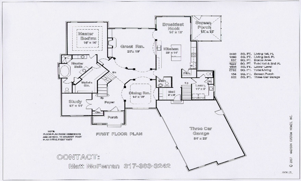 Great room kitchen floor plans kitchen great room with for Great room floor plans