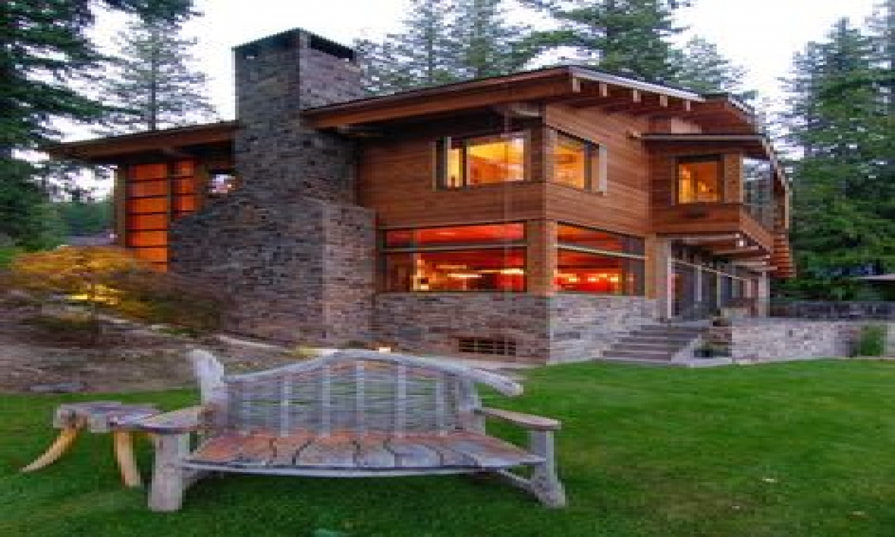 Rustic mountain cabin designs modern mountain cabins for Mountain chalet plans