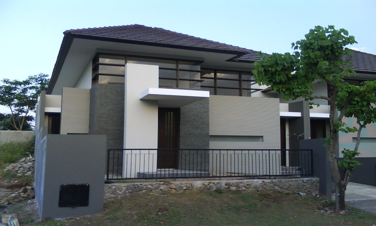 Small modern house exterior design small modern house for Small house design outside