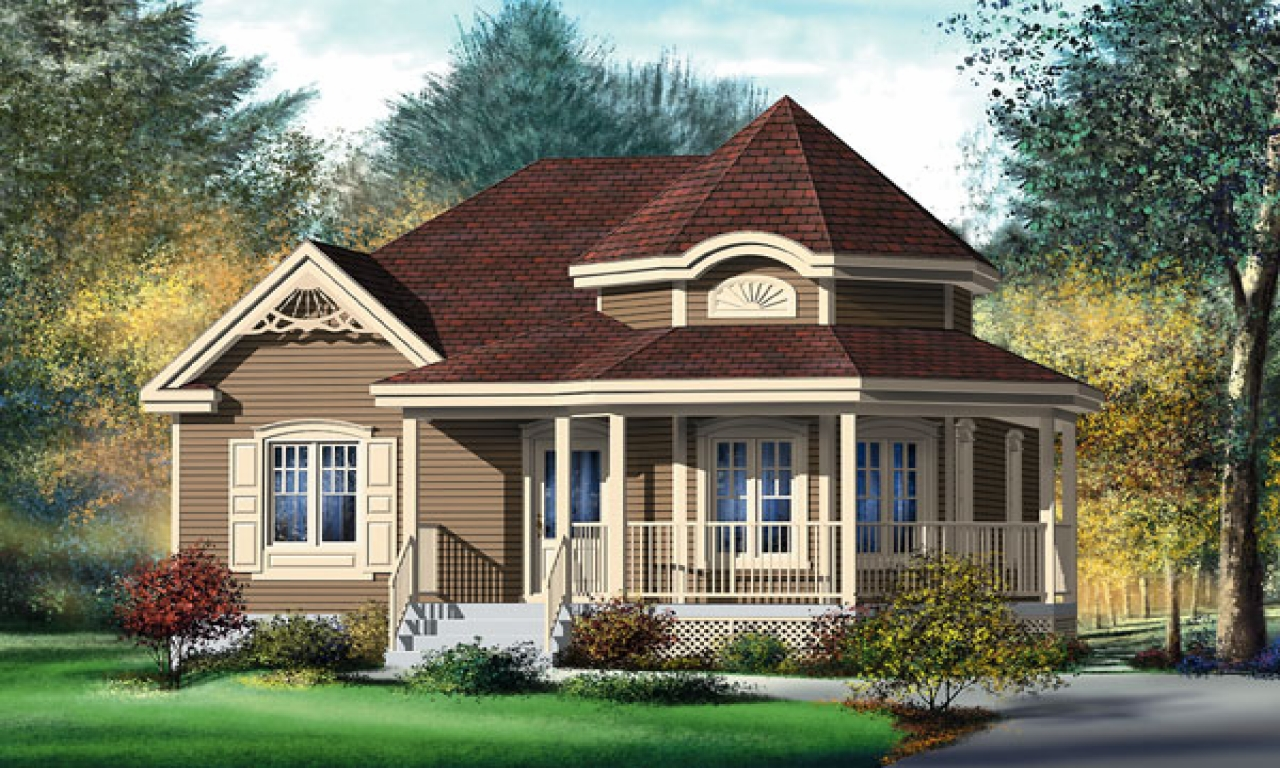 Small victorian style house plans small victorian style for Victorian home plans