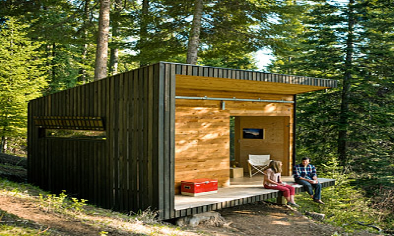 Diy A Frame Cabin Diy Cabin In The Woods Simple Cabins To