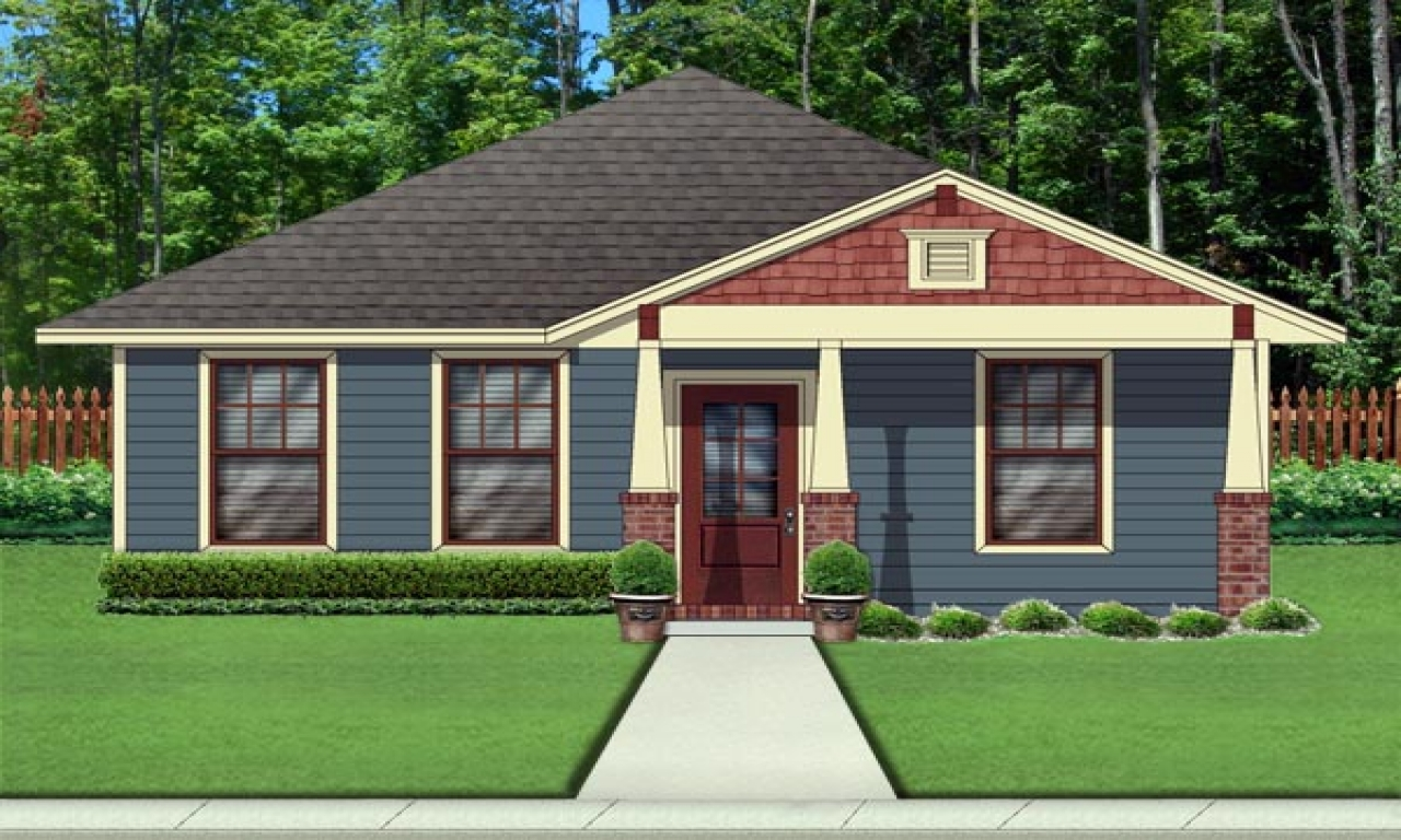 Craftsman style house plans 2000 sq ft craftsman bungalow for Bungalow house plans 2000 square feet