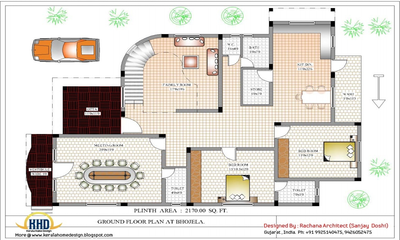 Big house plan designs floors house floor plan design House plan maker
