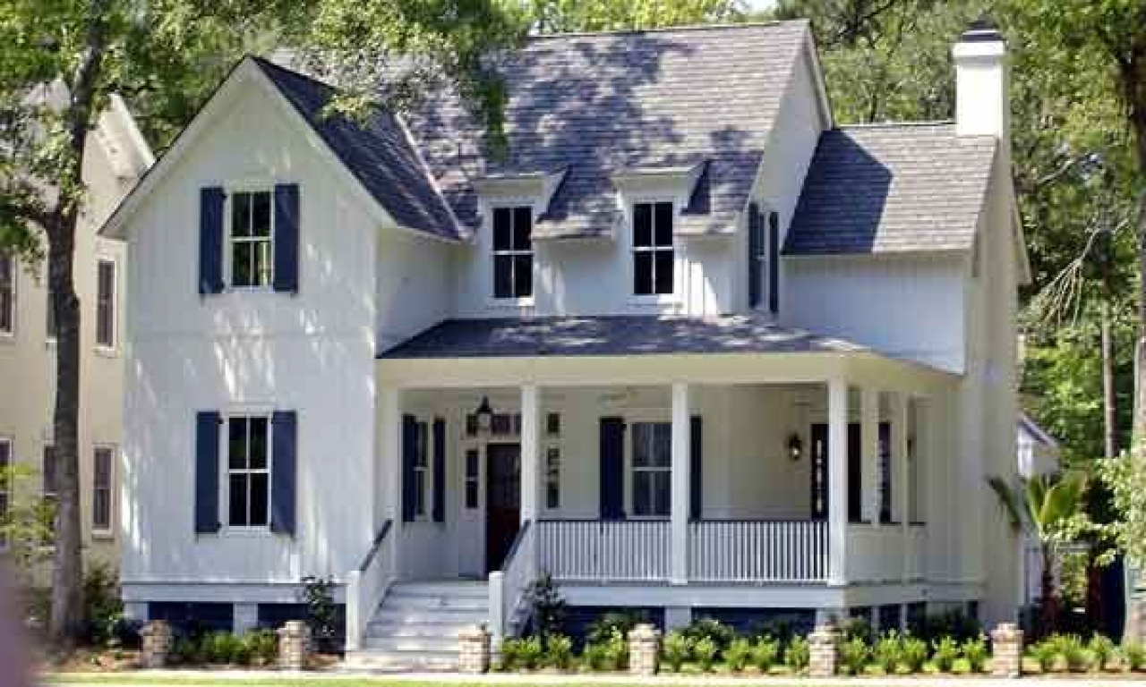 Country house plans with porches southern living house for Country living house plans
