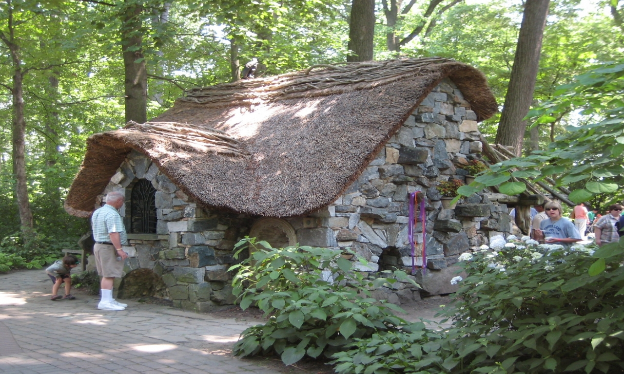 Enchanted Stone Cottage Forest Cottage In The Woods