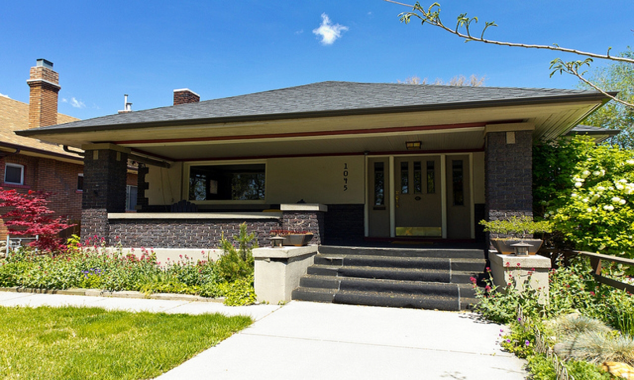 Modular craftsman bungalow style homes single story for Prefab craftsman bungalow