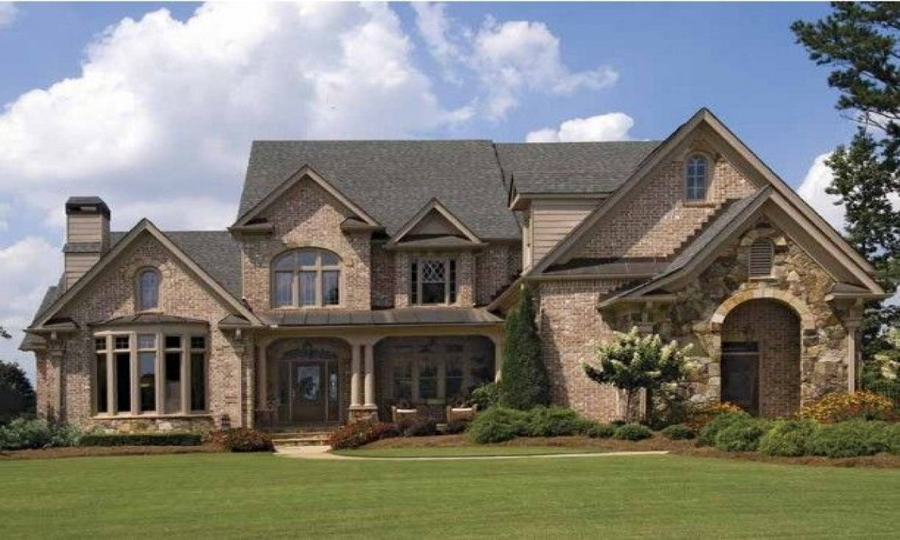 Exterior Mansion: Brick House Exterior Designs Brick French Country House