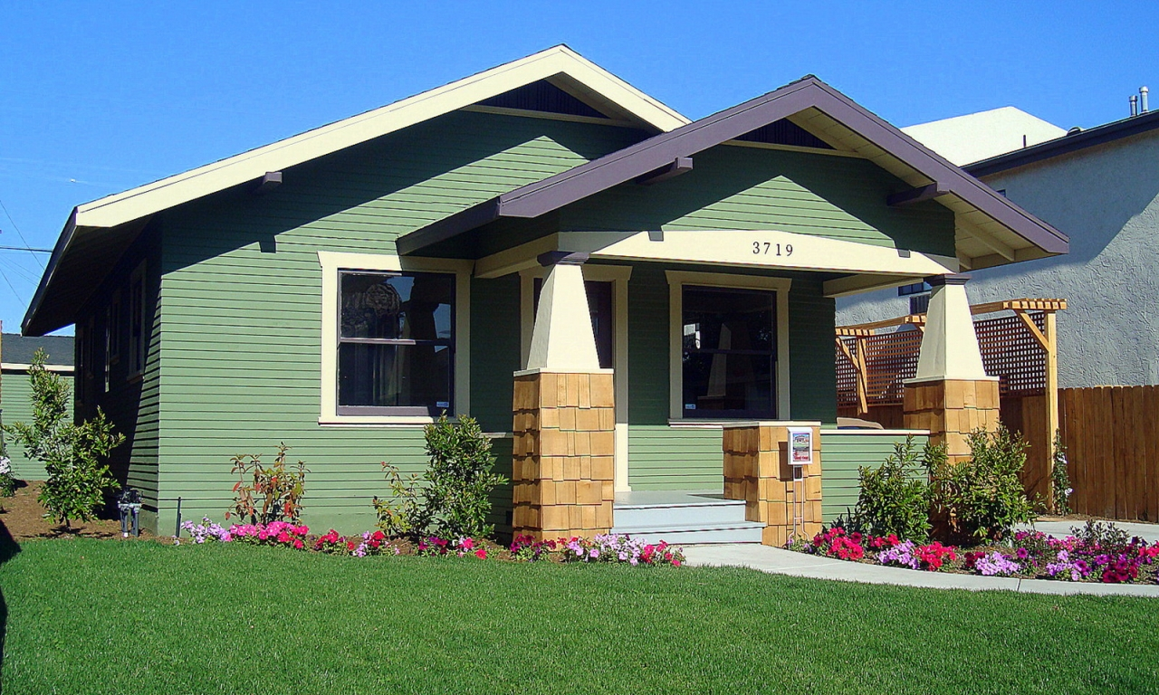 California Craftsman Style Bungalow For Sale California