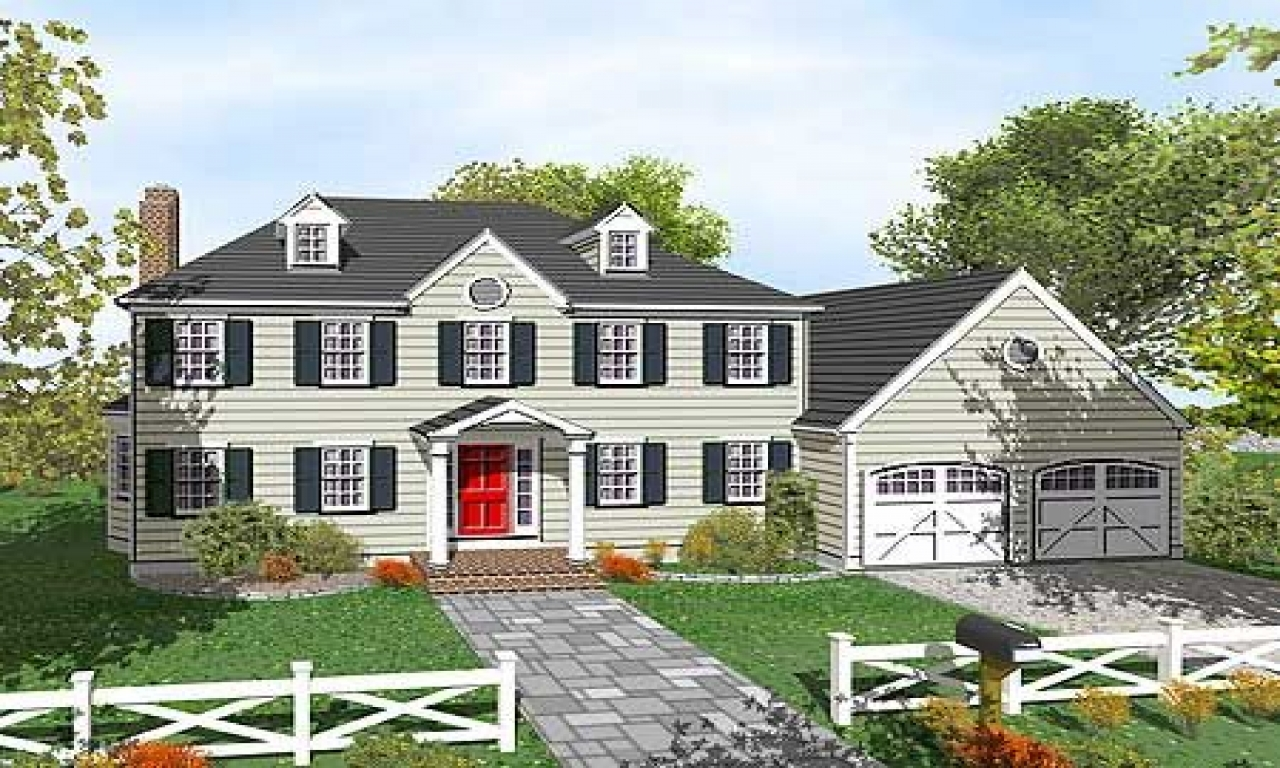 Colonial 3 story house plans 2 story colonial house floor for Two story colonial house plans