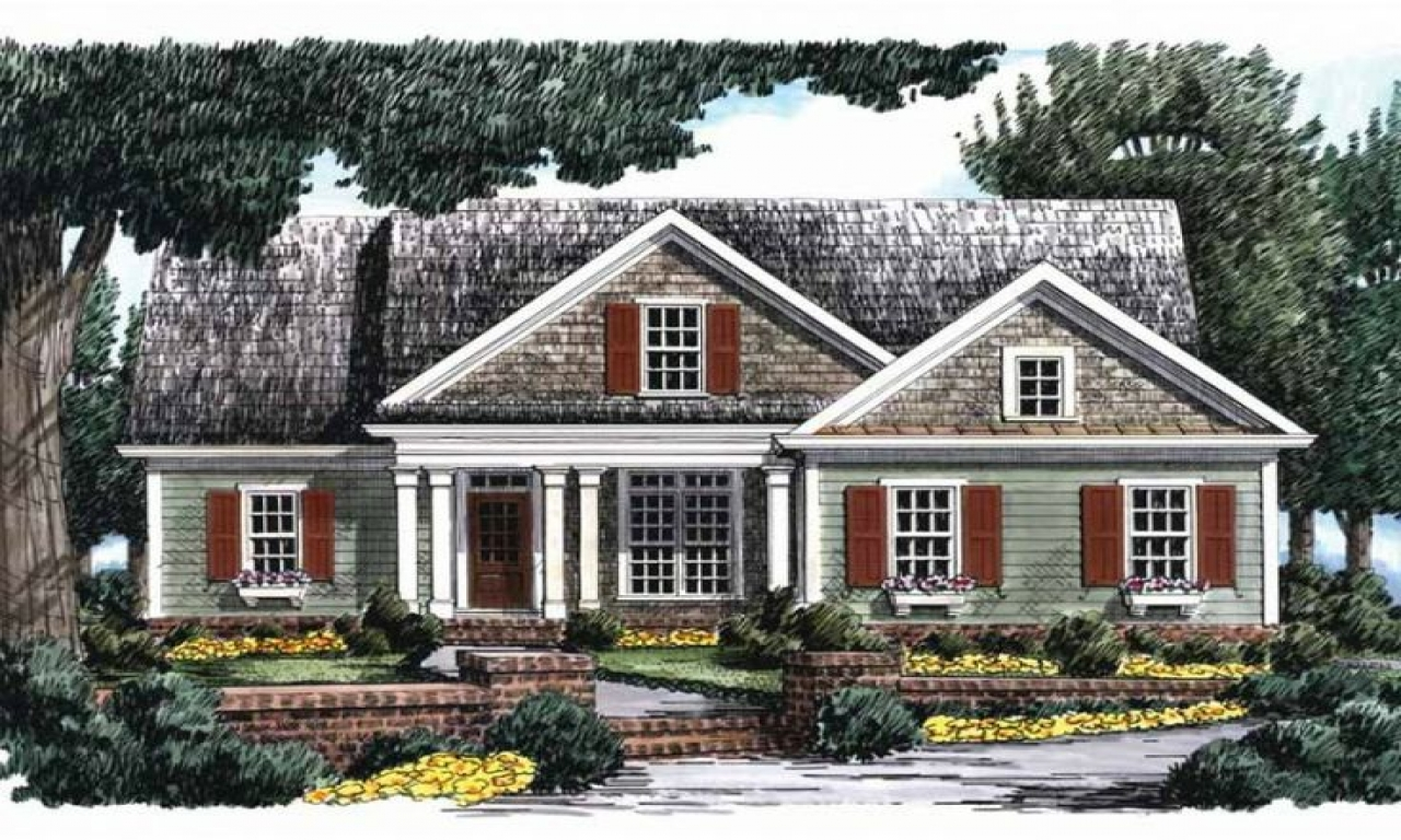 Eplans country house plan country house plans with porches for Eplans house plans