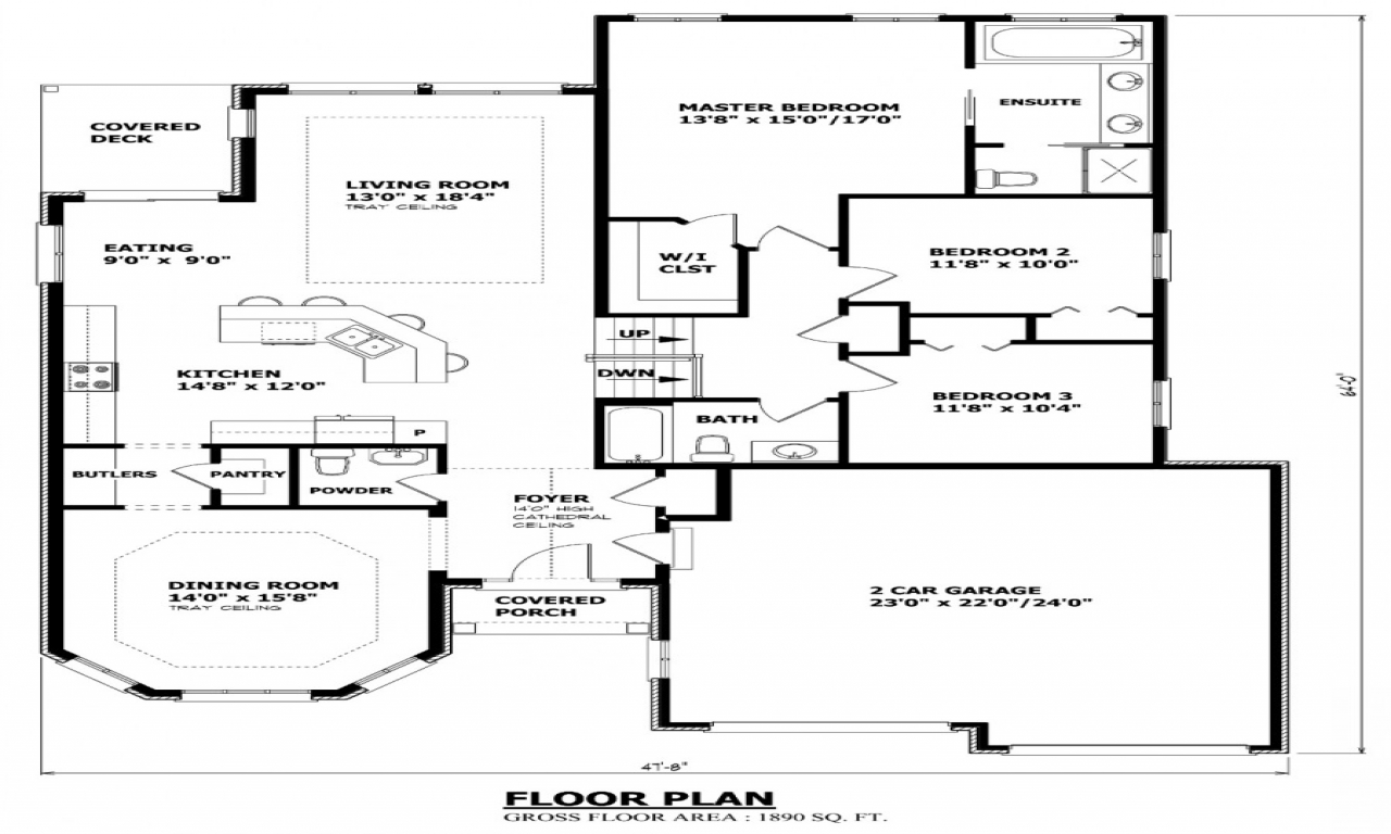 Cottage house plans canadian house plans house plans bc for Home floor plans canada