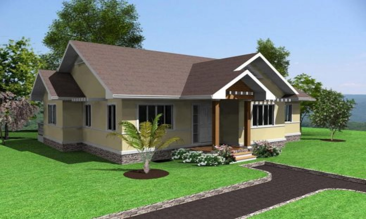 Simple house design 3 bedrooms in the philippines simple for Basic house design