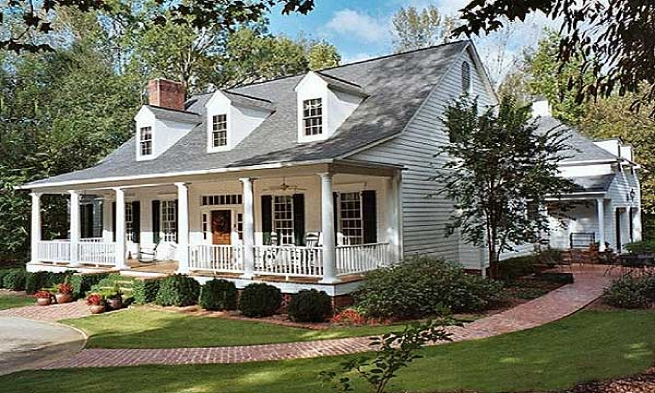 Traditional Southern Home House Plans Colonial Southern