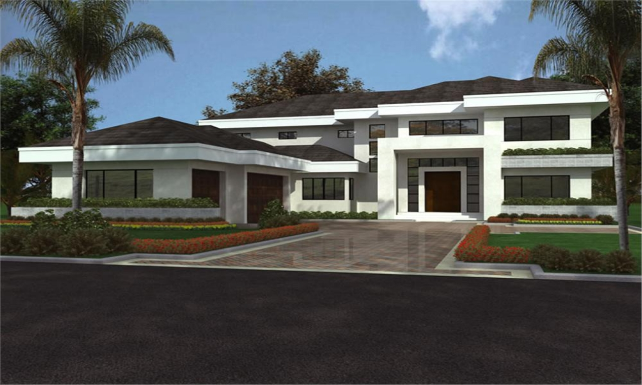 Design home modern house plans modern house home in design for Modern house yards