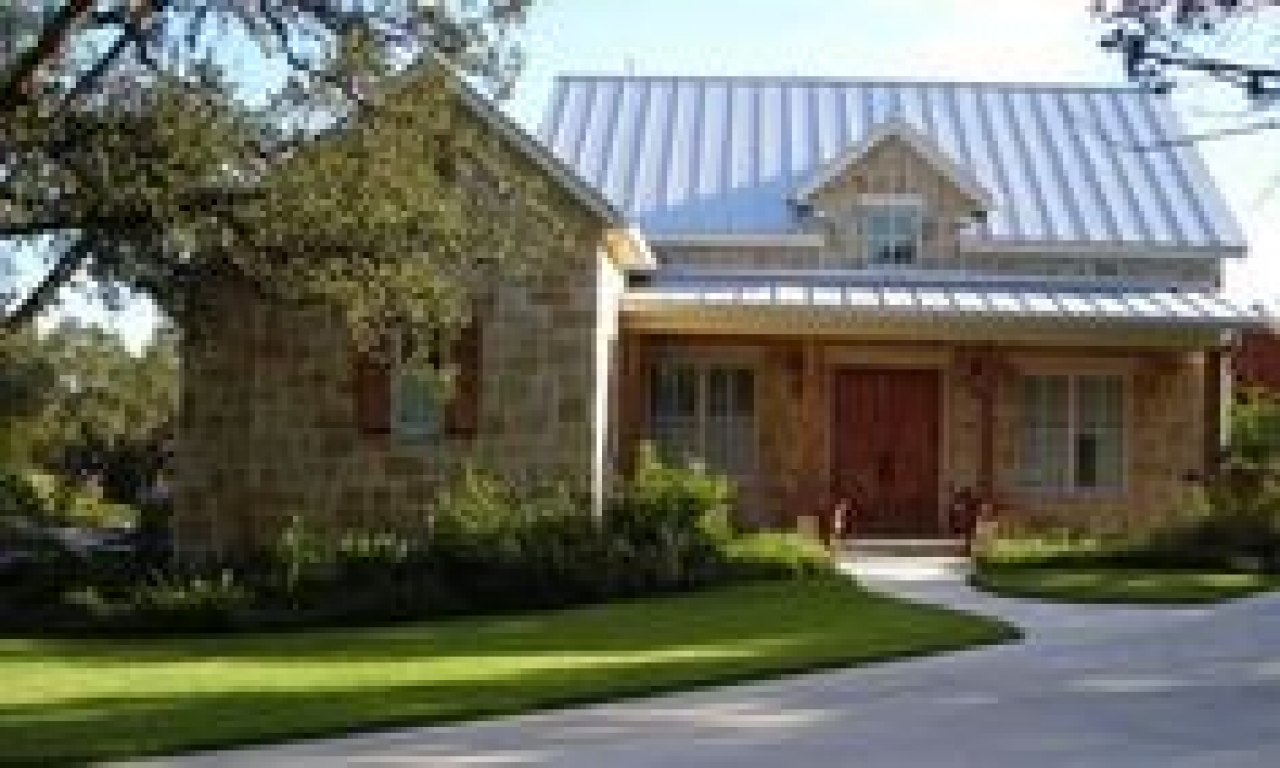 Texas hill country homes with metal roofs plans texas hill for Texas country home builders