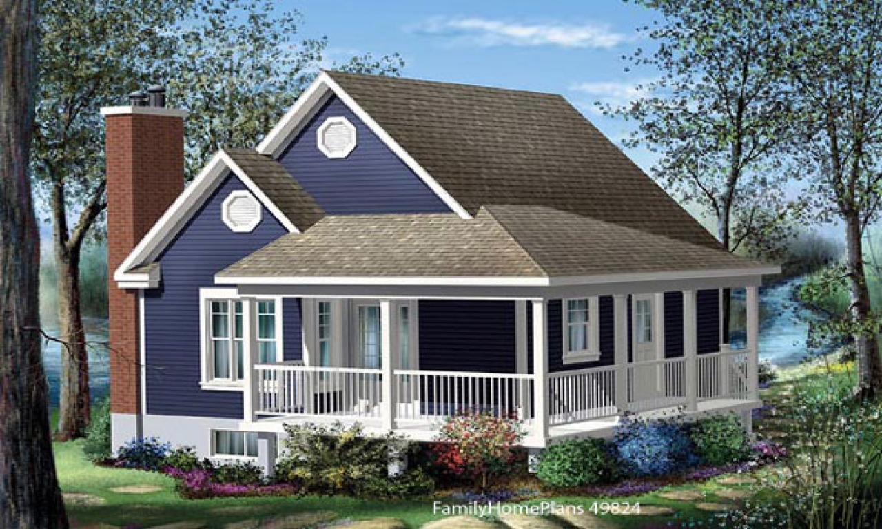 Cottage House Plans With Porches Cottage House Plans With