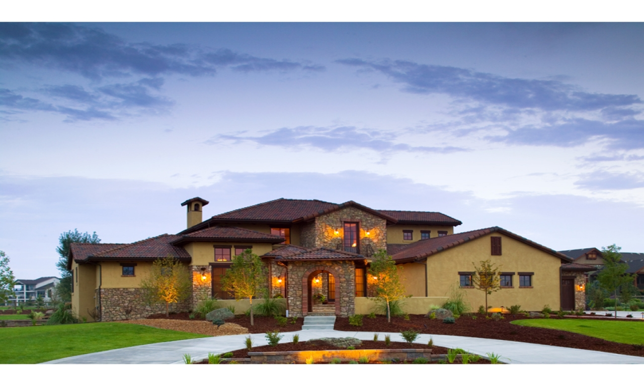 Italian style luxury homes designs luxury homes in for Home plans california