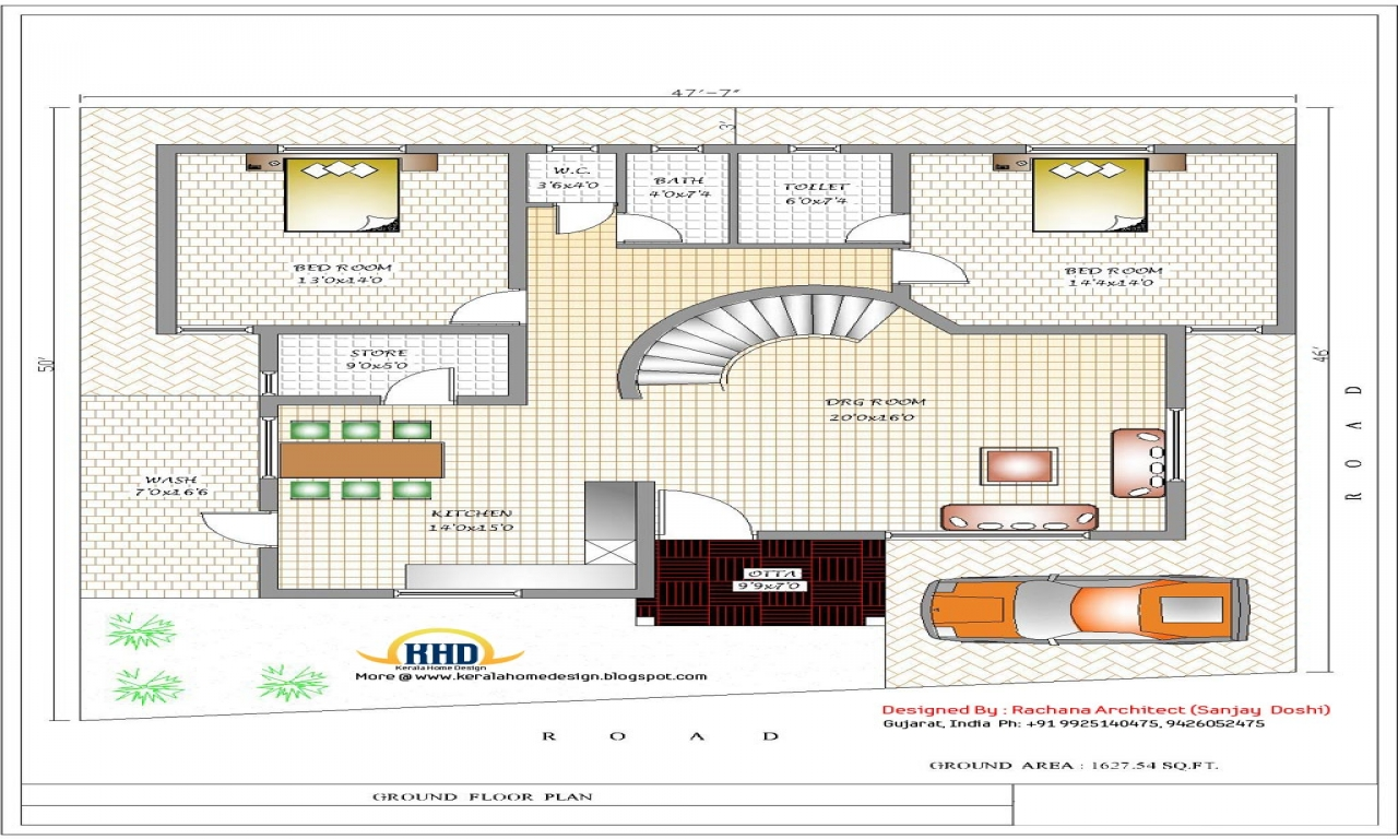 House plans designs india indian building design floor for Indian house construction plans