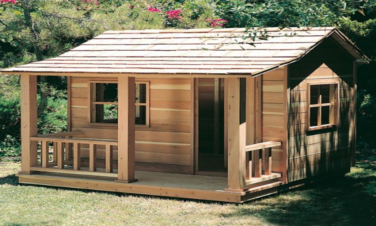 Wooden Playhouse Plans Girls Playhouse Plans, simple house ...