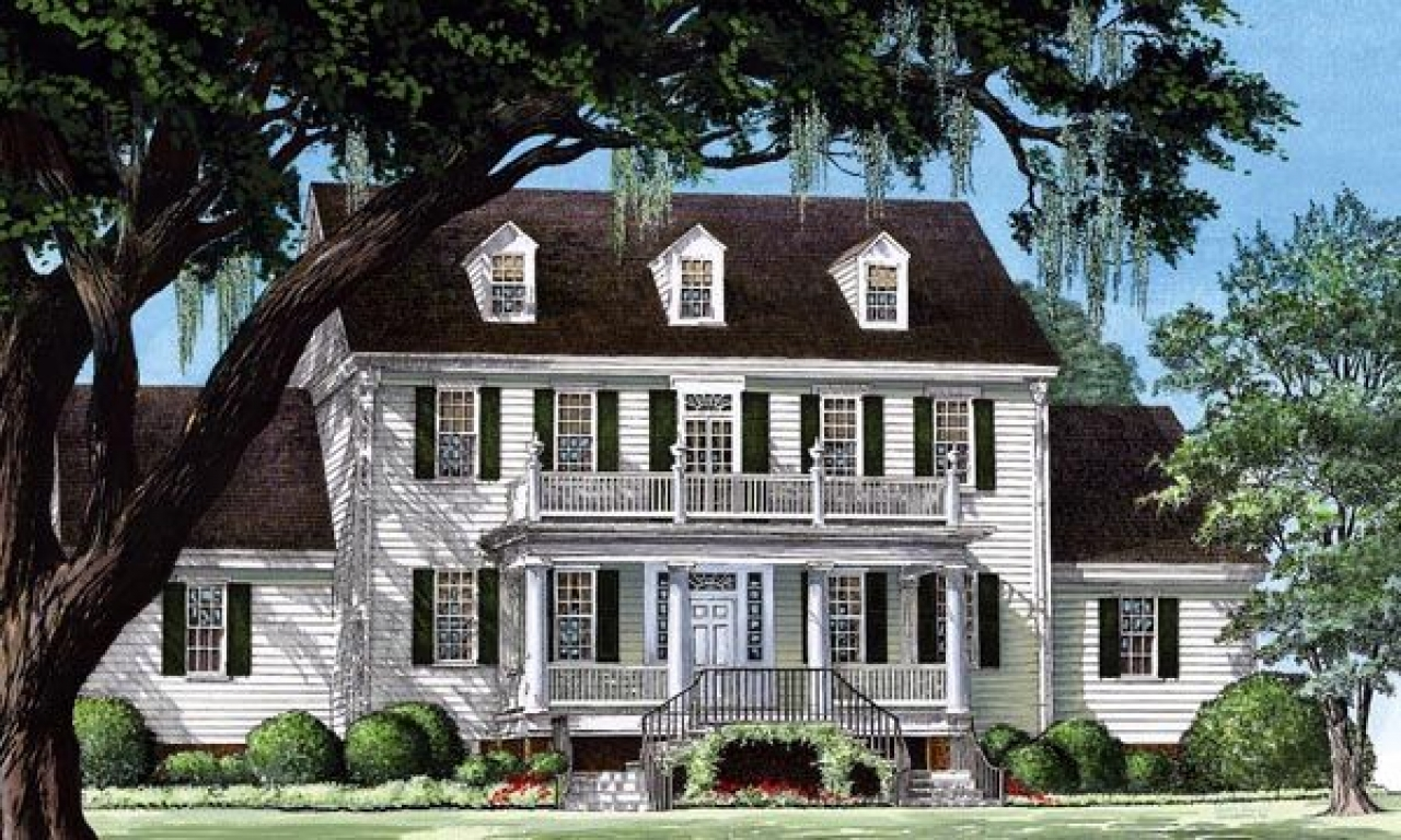 Colonial house plans designs colonial cottage house plans for Farmhouse colonial house plans