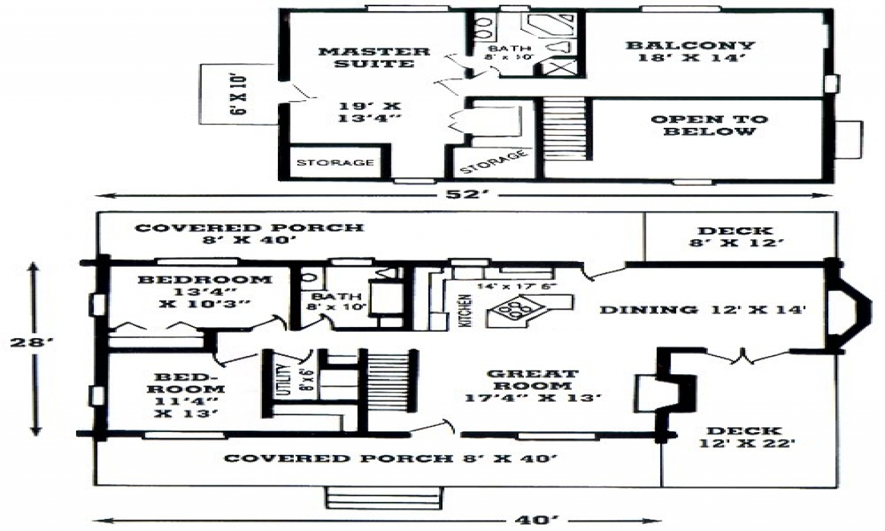 Katahdin Log Homes Floor Plans Log Home Open Floor Plan