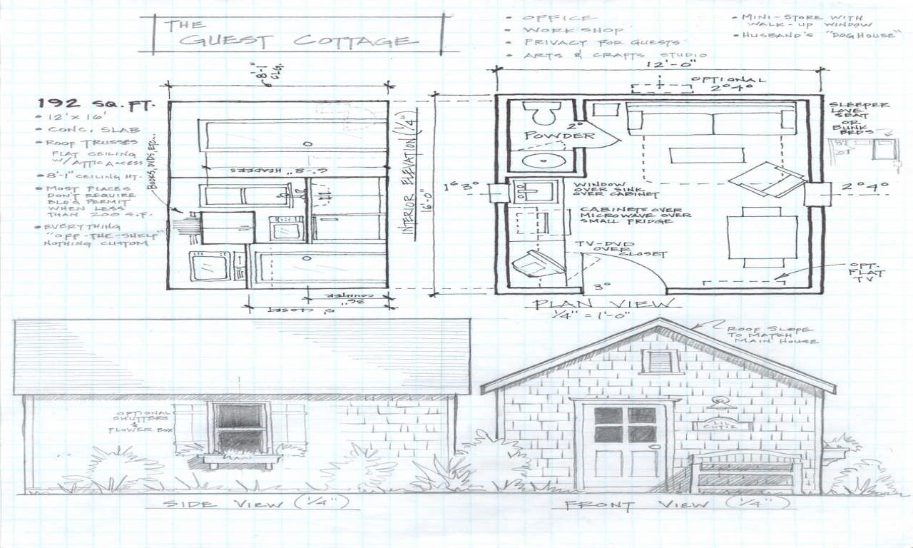 Small cabin floor plans small cabin house plans free for Cabin blueprints free