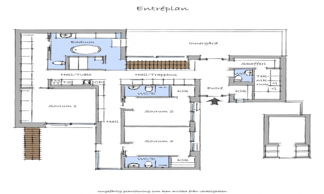 Modern house floor plans modern beach house floor plan for Beach home floor plans