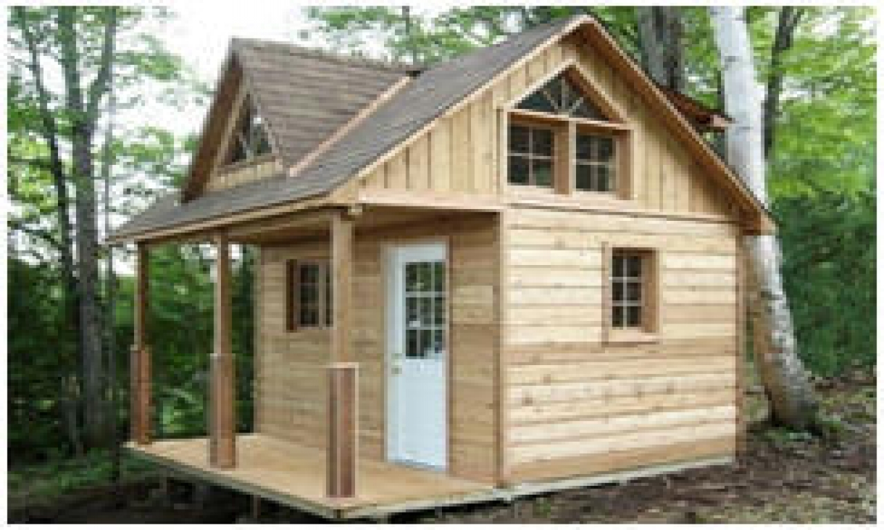 Unique small cabin plans small cabin plans with loft kits for Fishing cabin kits