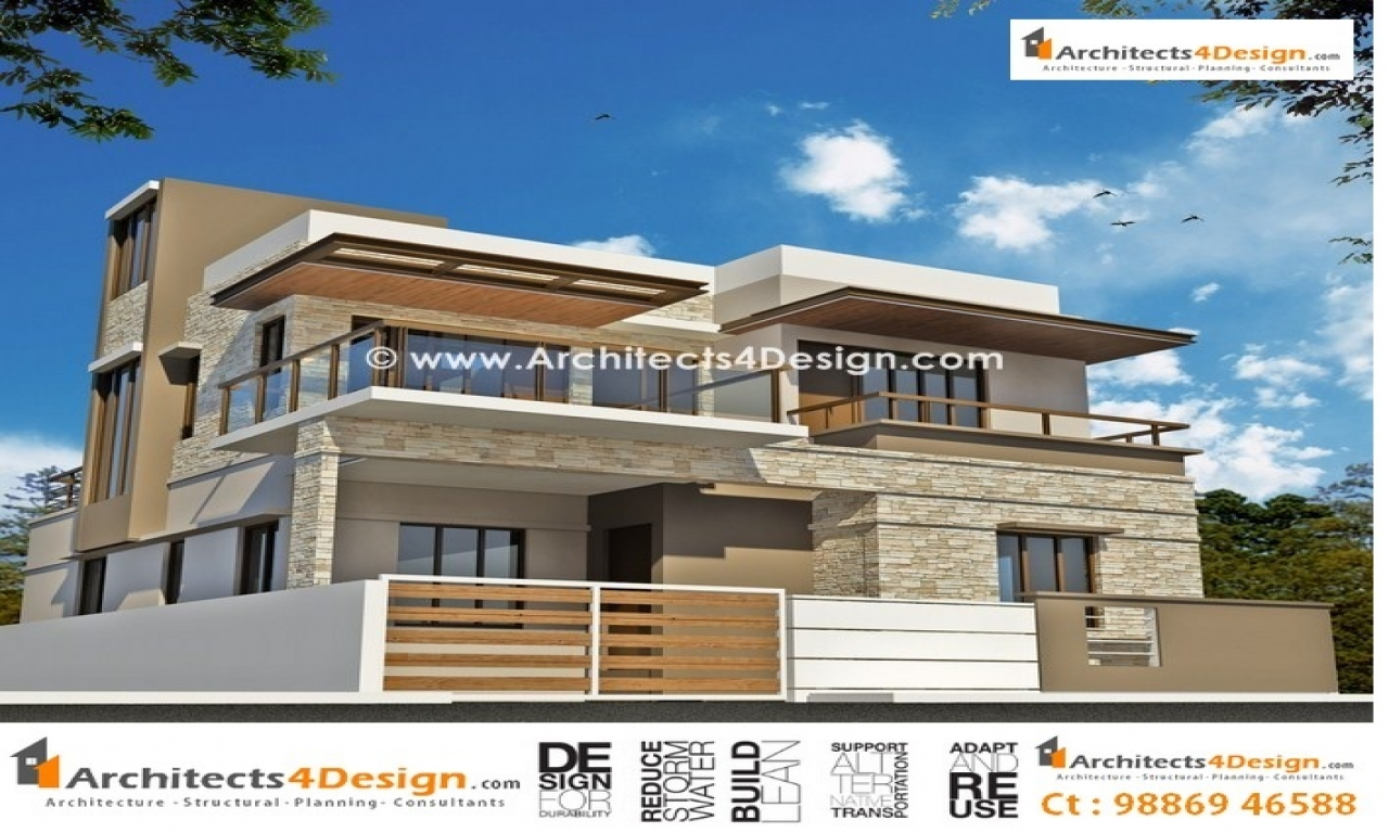 Front Elevation Of Residential Houses : Front house elevation design photo