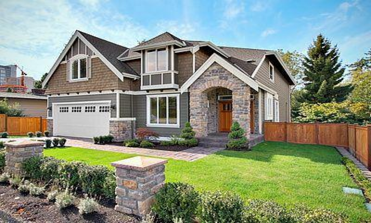 Contemporary Craftsman Style House Plans Modern ...